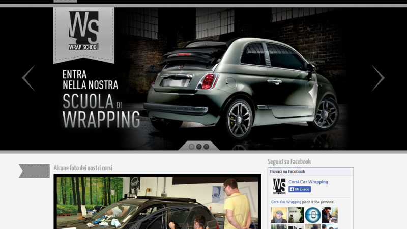 Sito Internet Corsi Car Wrapping